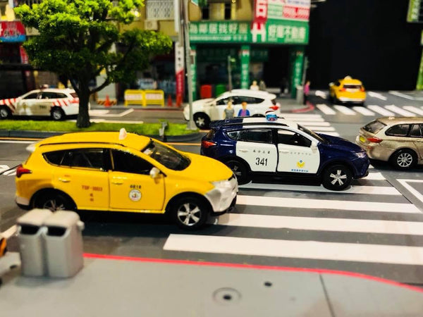 Tiny City 1 64 Toyota Rav4 Taxi Taiwan Toy Space Toyspace Sg