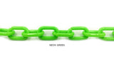AC1006 Acrylic/Plastic Link Chain CHOOSE COLOR BELOW