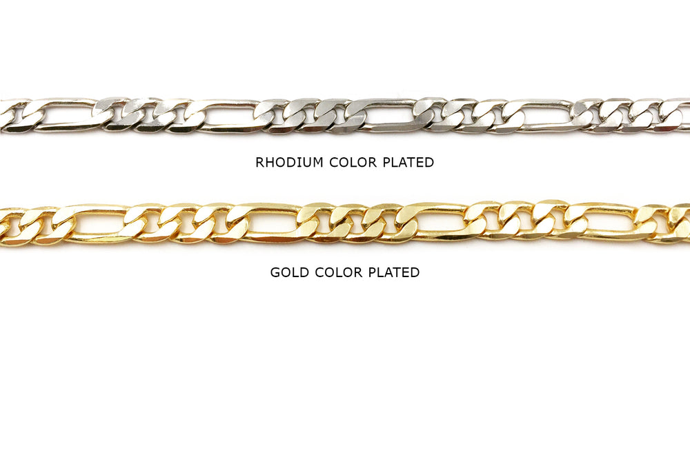 BCH1005 Figaro Chain CHOOSE COLOR BELOW
