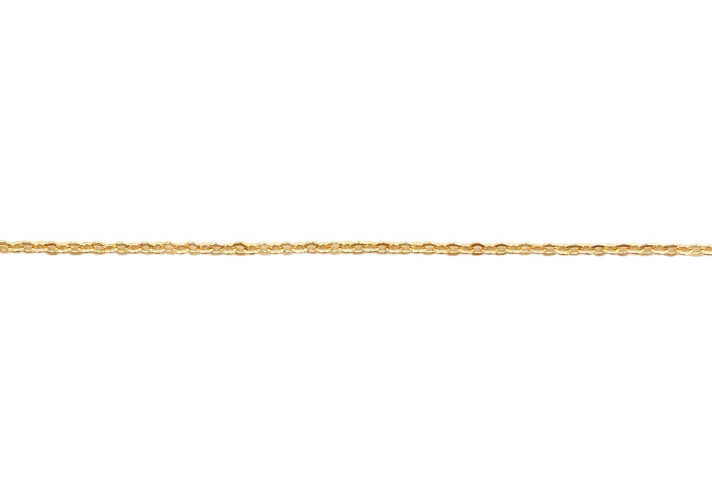 BCH1126 18 Karat Gold Plated Cable Chain