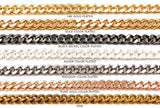 BCH1229 Curb Chain - CHOOSE COLOR FROM DROP DOWN ARROW