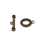 CMF1805 Oval Toggle Clasp - CHOOSE COLOR FROM DROP DOWN ARROW