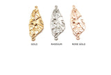 CMF2290 Double Link Irregular Shape Pendant