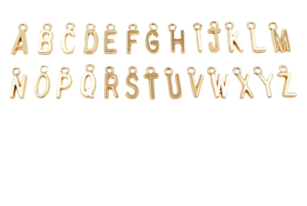 CMF2307 Initials Charm/Pedant Choose Letter From Drop Down Arrow