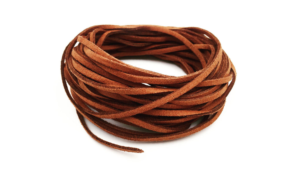 CSC1001 Brown Faux Suede Cord