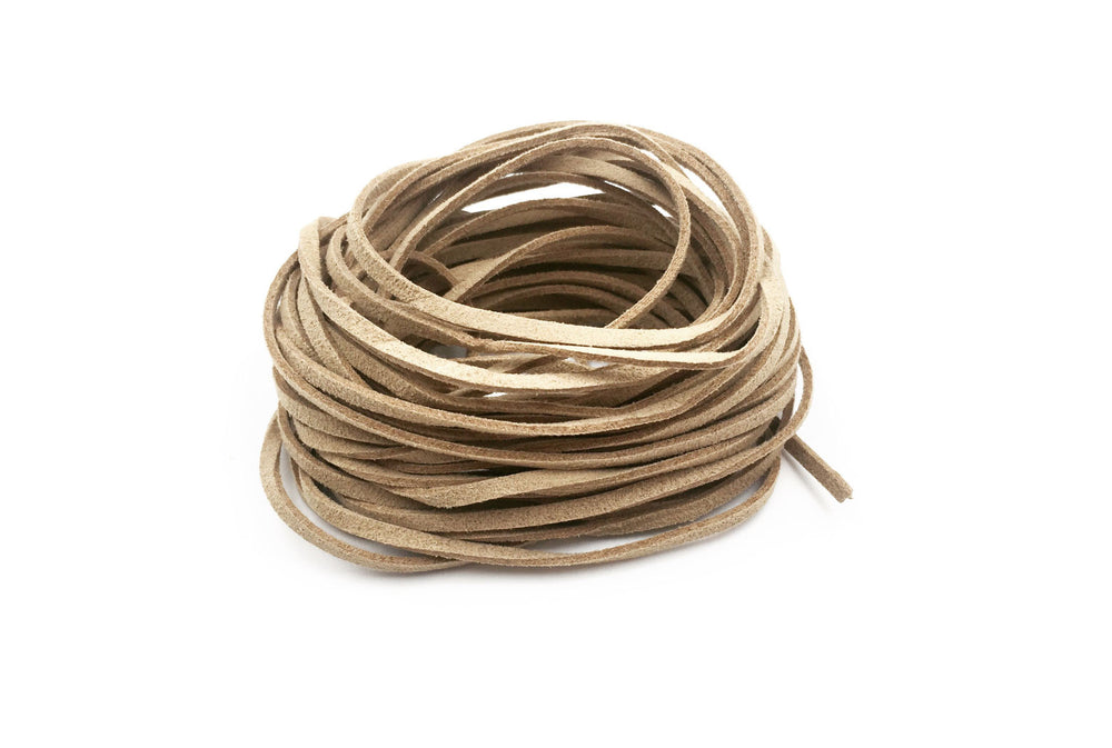 CSC1001 Natural Faux Suede Cord