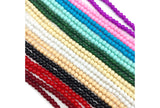 GB1750  4mm Glass Beads CHOOSE COLOR BELOW