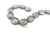 GB1755 Faceted Oval Crystal Stone 20mmX24mm In All Colors CHOOSE COLOR FROM DROP DOWN ARROW