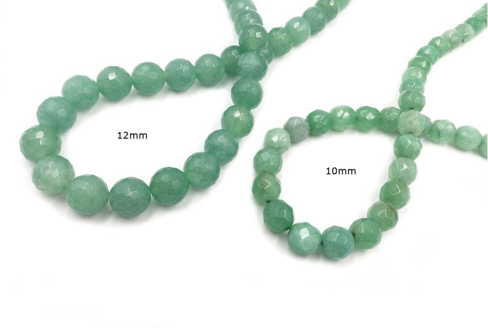 GSLL1012  Round Faceted Gemstone 10mm - 12mm