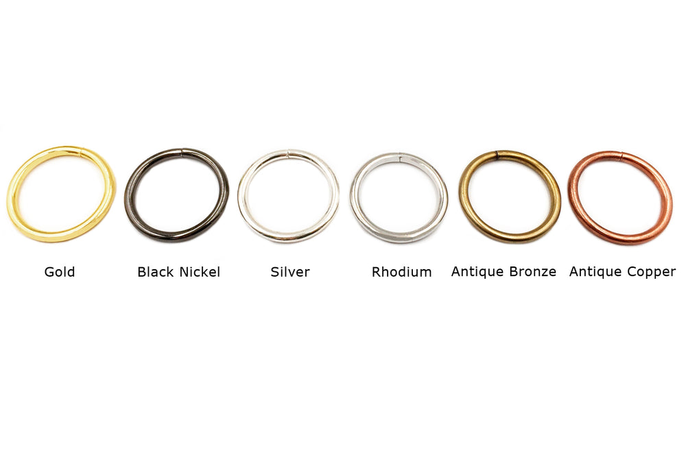 MP2242 Steel Ring 40mm x 4.8mm CHOOSE COLOR BELOW