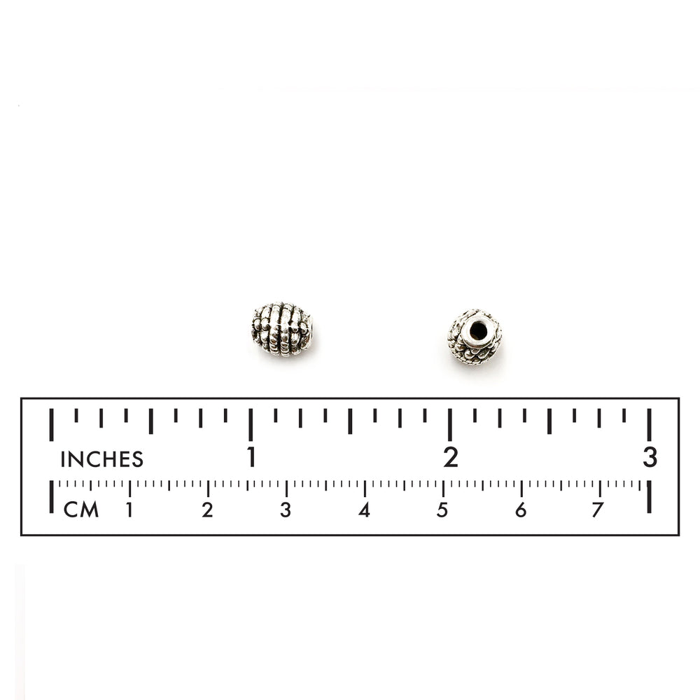 MP3140 Oval Dotted Rope Design Spacer