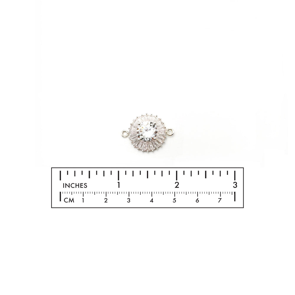 MP3564 Cubic Zirconia Charm