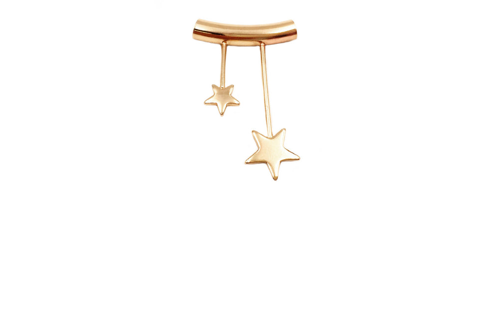 MP3707 Two Star Pendant