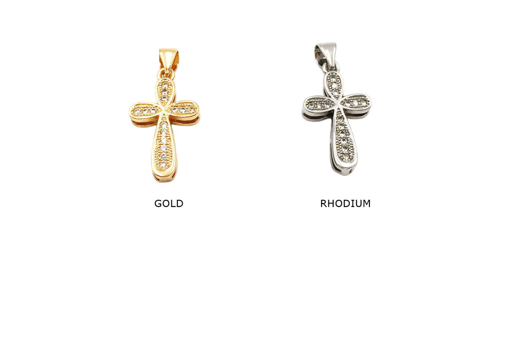 MP3738 Cubic Zirconia Cross