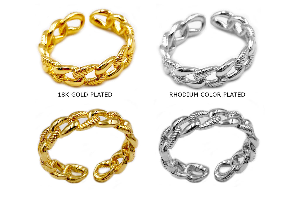 MP3892 Chain Ring - Curb Chain Ring CHOOSE COLOR BELOW