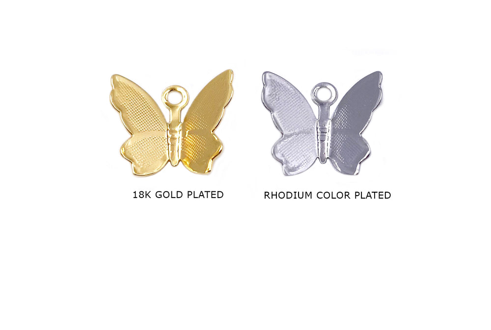 MP3918 Butterfly Charm Pendant CHOOSE COLOR BELOW