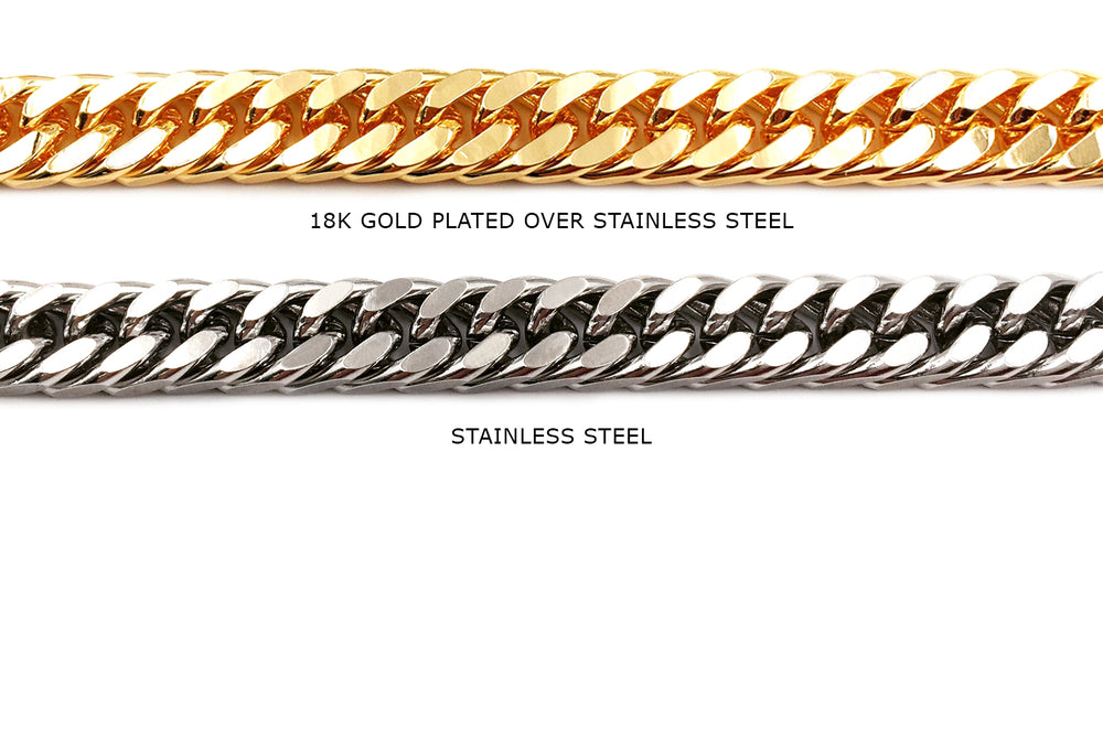 SSC1019 Stainless Steel Curb Chain CHOOSE COLOR BELOW