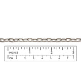 SSC1045 Stainless Steel Flat Oval Link Chain