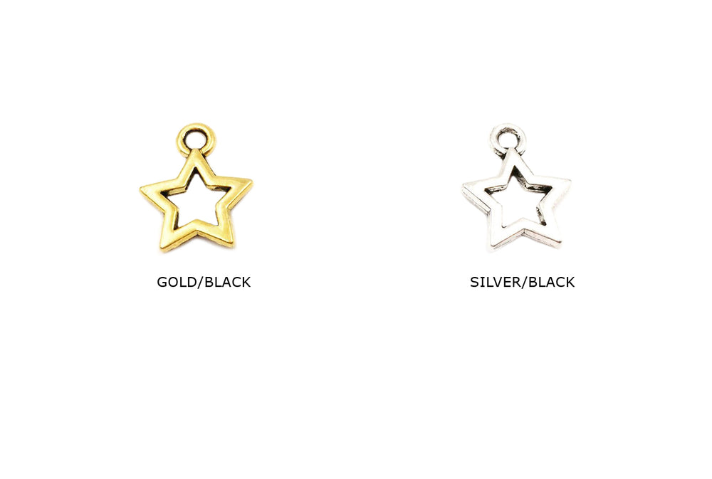 CMF2250 Star Charm/Pendant CHOOSE COLOR BELOW