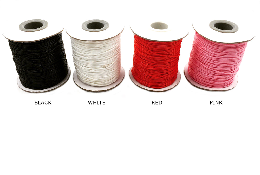 KWC1001  0.8mm Nylon Cord CHOOSE COLOR BELOW