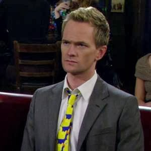Gravata  Barney- How I Met Your Mother.