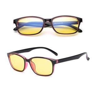 Men's Yellow Tinted Glasses