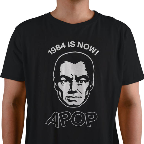 "Apoptygma Berzerk ""1984 IS NOW!"" Black - PRE-ORDER!"