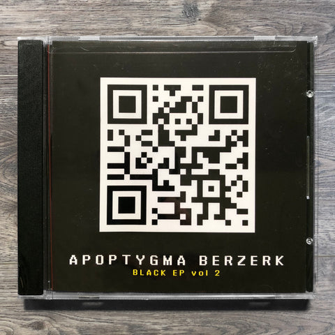 "Apoptygma Berzerk ""Black EP Vol. 2"" CD EP"
