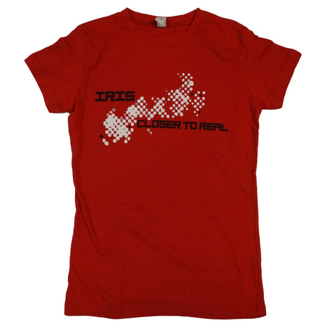 "Iris Ladies ""Closer To Real"" Shirt Red"