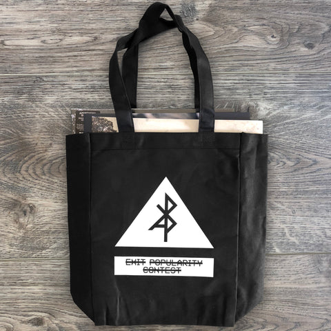 "Apoptygma Berzerk ""Exit Popularity Contest"" Canvas Tote Bag"