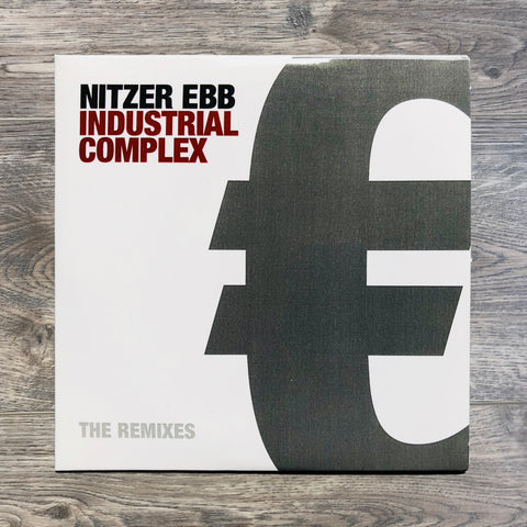 "Nitzer Ebb ""Industrial Complex - The Remixes"" HANDNUMBERED PROMO CD"