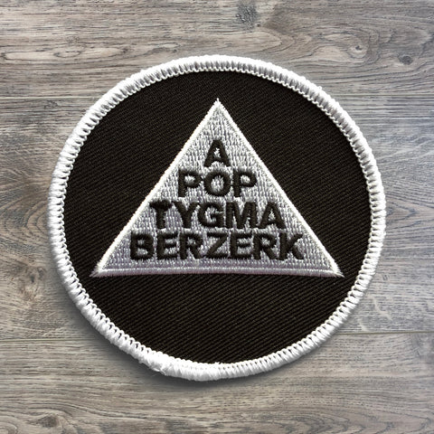 "Apoptygma Berzerk ""Exit Popularity Contest"" Iron On Patch"