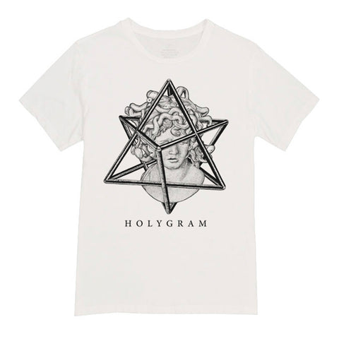 Holygram Geometric Shirt White
