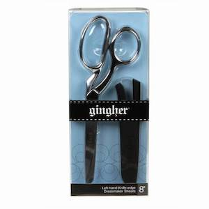 Gingher 8in Knife Edge Dressmaker Shears - Left Handed