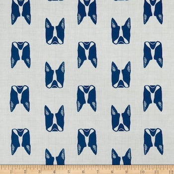 Cats and Dogs - Blue $11.25/ Yard