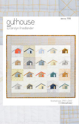 Outhouse Quilt Pattern