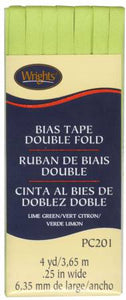 "Double Fold Bias Tape (1/4"" wide)"