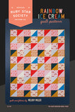 Rainbow Ice Cream Quilt Pattern