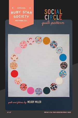 Social Circle Quilt Pattern