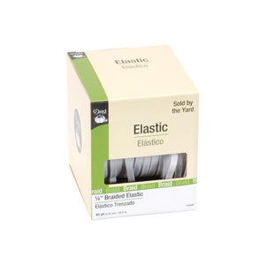 "Dritz Braided Elastic - 1/4"" White"