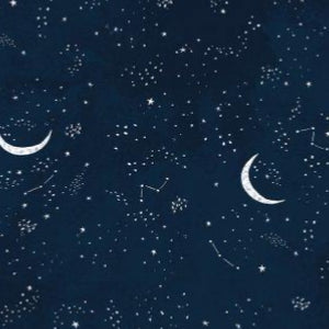 FLANNEL Crescent Moon - Multi  $12.25 / Yard