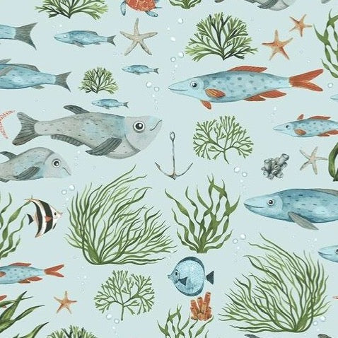 Nice to Sea You - Skylight   $11.99/ Yard