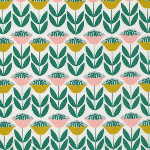 Laminated Cotton Tuliptopia - $16.95/Yard