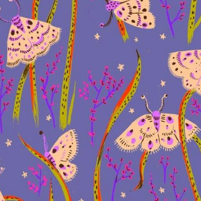 Moths- Twilight $11.75/ Yard