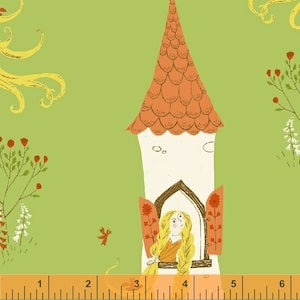 Rapunzel - Green $11.75/ Yard