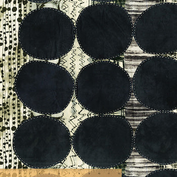 Circles - Black $12.99/ Yard