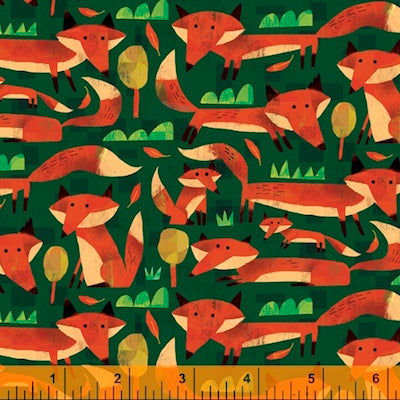 Little Foxes - Forest $12.99/ Yard