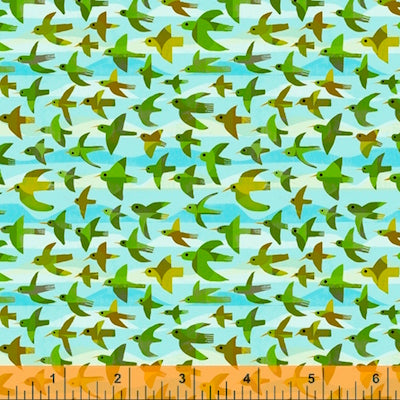 Flying Birds- Sky $12.99/ Yard