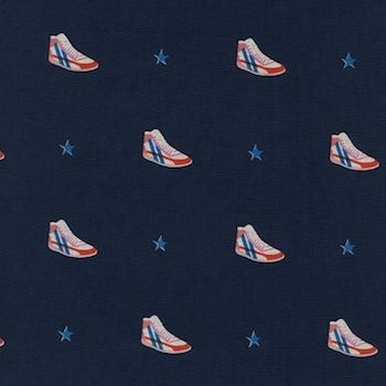 Little Kicks - Navy $11.75/ Yard