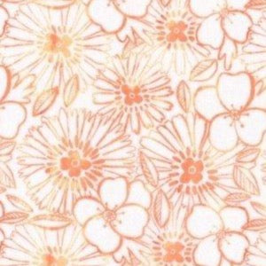 Cactus Bloom - Peach $11.75 / Yard